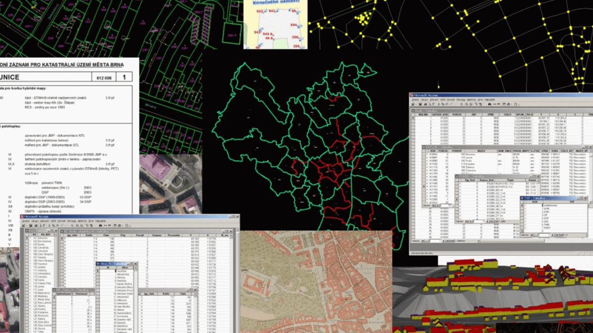 Příběh Digitální mapy Brna