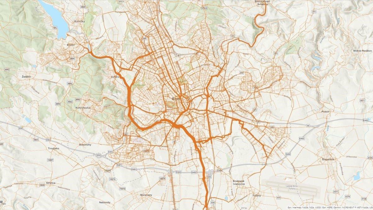 Kudy jezdí cyklisté nejčastěji? Máme odpověď!