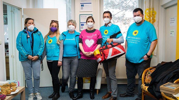 Radní na cestách: Jana Leitnerová v Hustopečích - očkování a nový domov pro seniory