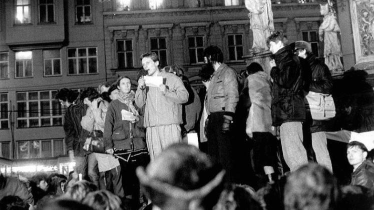 Ivo Vašíček: Moje vzpomínky na LISTOPAD 1989
