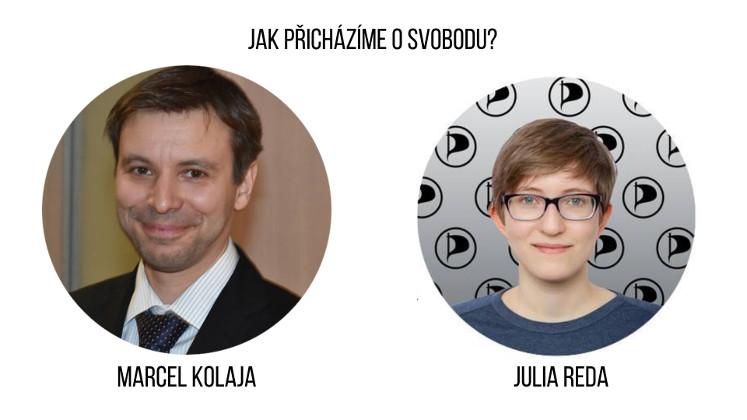 Tisková zpráva: Pirátská europoslankyně Julia Reda míří do Brna na diskusi o svobodě na internetu