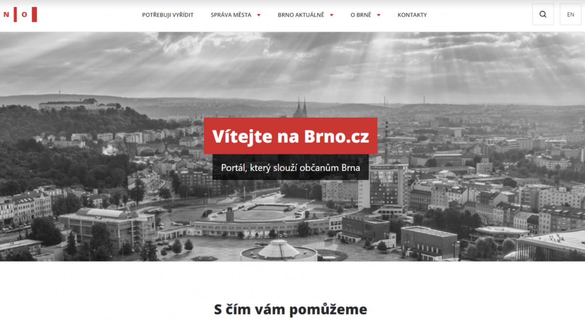 Brno bude mít nový přehlednější web!