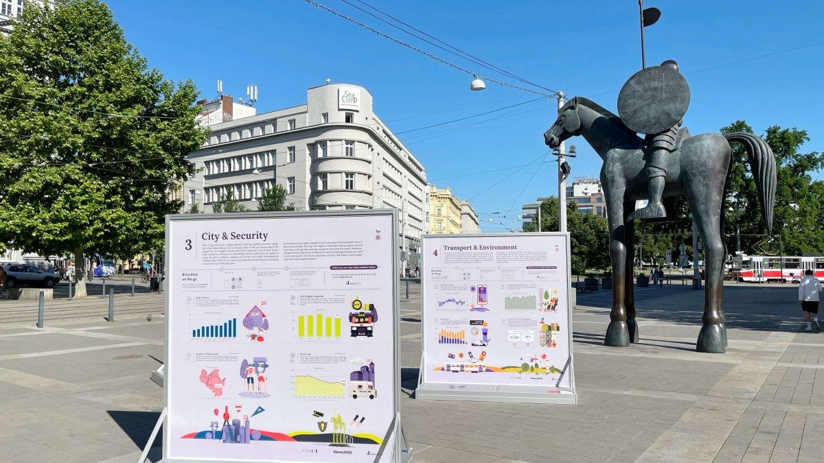 Město v datech a číslech. Brno vydalo aktuální zprávu o stavu města.