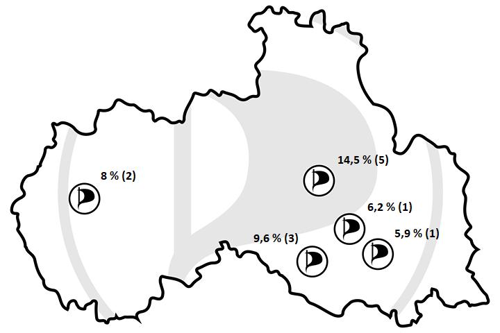 Piráti v Libereckém kraji uspěli ve volbách. Po náročné kampani je však čeká to nejtěžší.