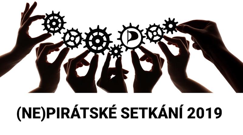 1. setkání (nejen) Pirátů z blízka i daleka ve Stráži pod Ralskem 10. - 11. 8. 2019