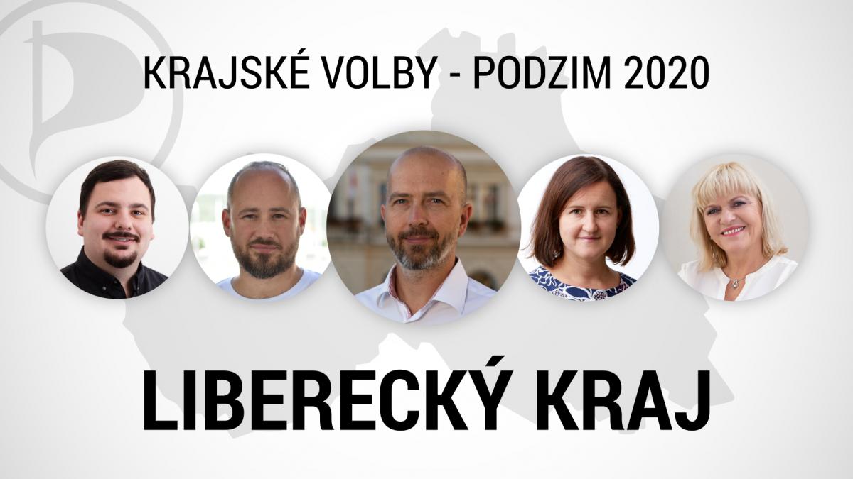 Piráti si zvolili kandidáty do krajských voleb v Libereckém kraji, lídrem je Zbyněk Miklík
