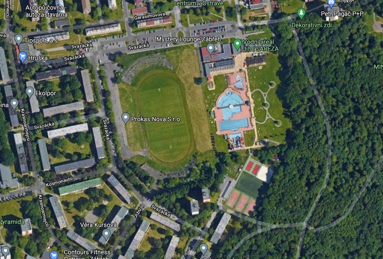 Pozemek po fotbalovém stadionu je k mání za 31 milionů, Piráti by tam rádi viděli sportovní komplex s plaveckým bazénem
