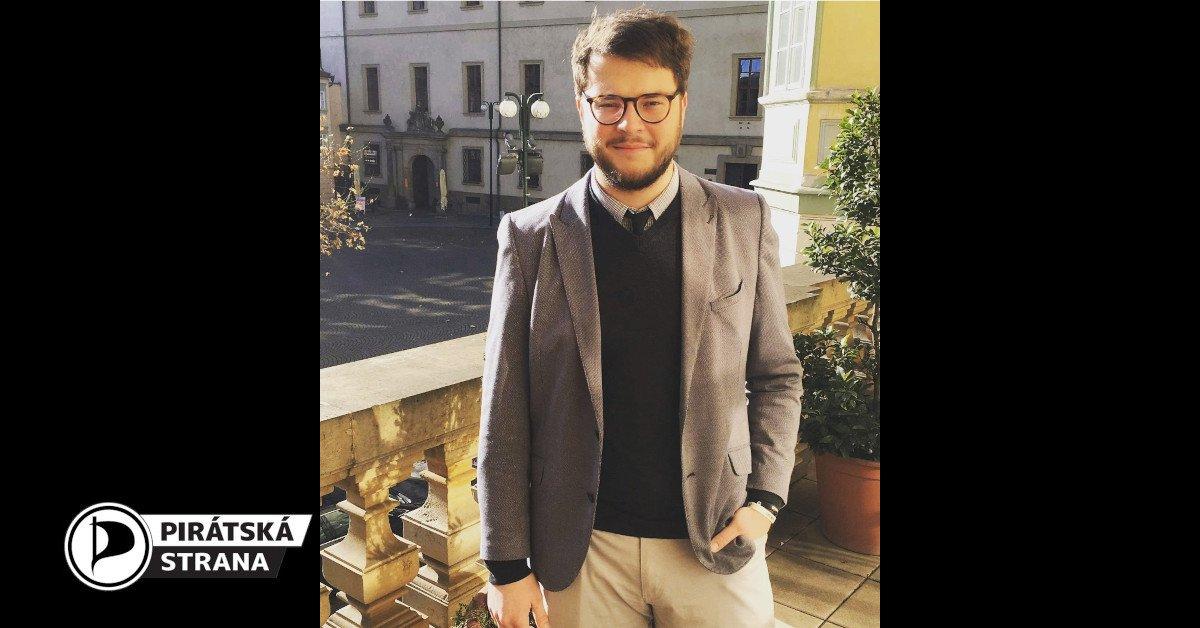 Trojkou pirátské kandidátky do Sněmovny bude Daniel Galuszka z Bohumína