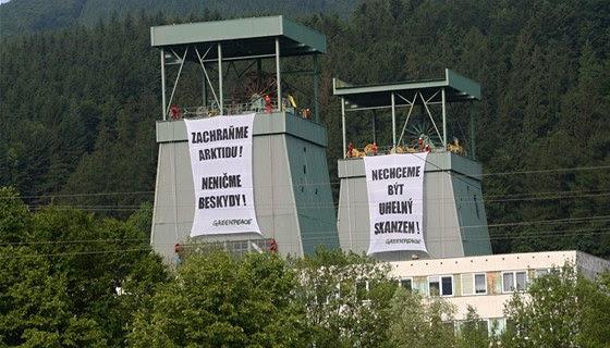 """Bude se těžit uhlí v Beskydech? Piráti mají jasno: """"Beskydy nedáme, vláda by měla zahájit likvidaci dolu Frenštát"""""""