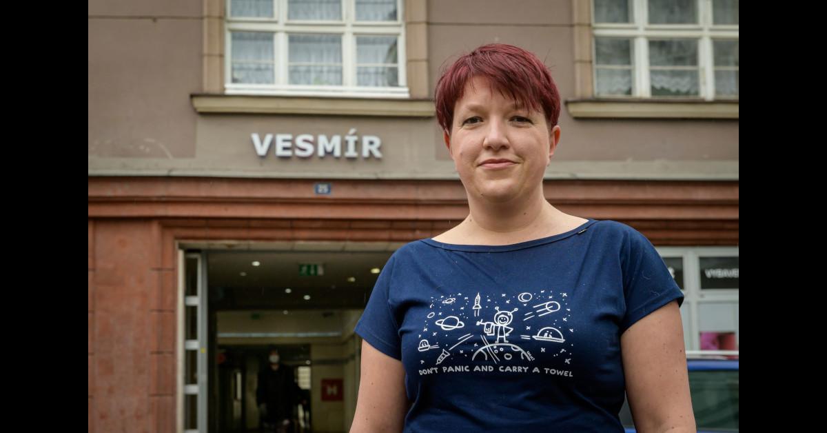 """Vesmír není tak daleko, jak se zdá,"""" říká autorka kosmického programu Veronika Murzynová"""