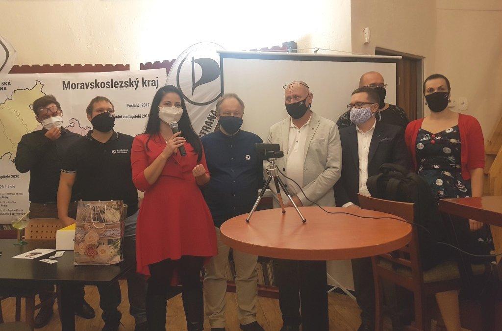 Moravskoslezští Piráti mají devět krajských zastupitelů a míří do opozice