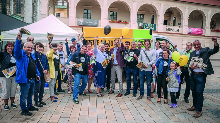 Vít Rakušan navštívil Prostějov a Olomouc