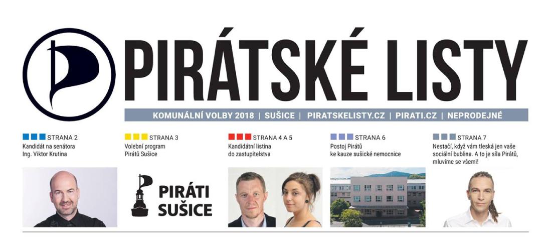 Vycházejí Pirátské listy