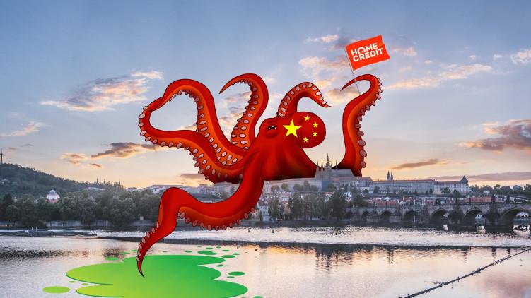 Čínská chobotnice rozpíná svoje chapadla nejen nad Českem ale i nad Prahou