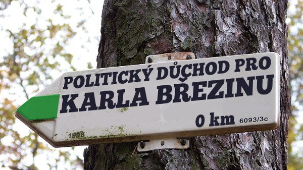 Výzva Straně zelených: pošlete Březinu do politického důchodu!