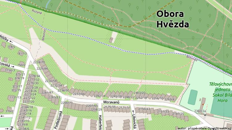 Hlavní město Praha kupuje pozemky u Hvězdy, kde majitel usiloval o bytovou výstavbu