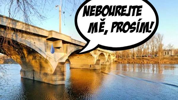 Piráti nesouhlasí s demolicí Libeňského mostu