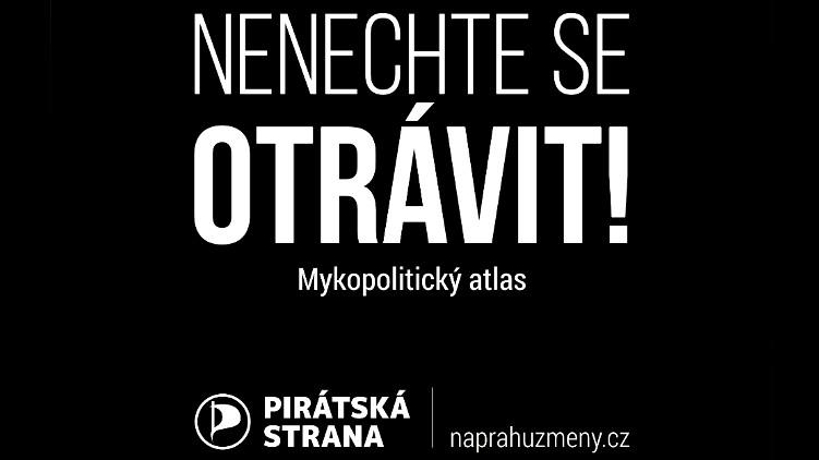 Piráti vydali mykopolitický atlas, aby se voliči neotrávili předvolební kampaní