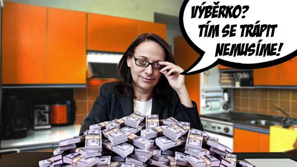 ANO vytáhlo z kuchyňky 20 miliónů na účetní systém