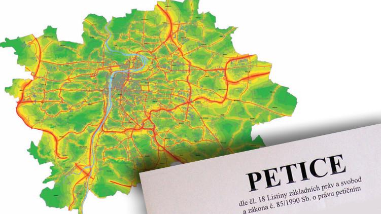Petice bojuje za snížení hluku z dálničního okruhu
