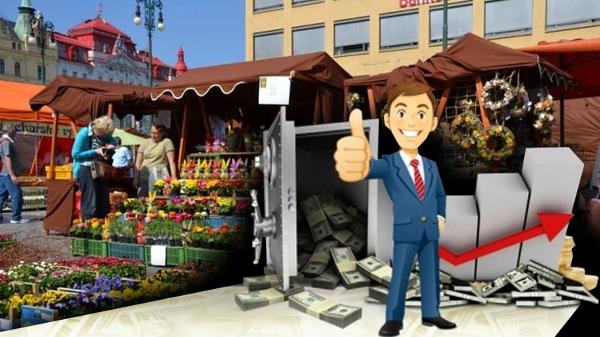 Byznys snů. Provozuje farmářské trhy na Náměstí Republiky, neplatí za to nic