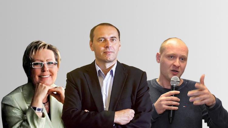 V Praze budou do Senátu kandidovat Michálek, Tylová a Wagenknecht