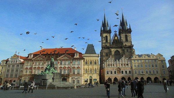 Projekt turistika v Praze