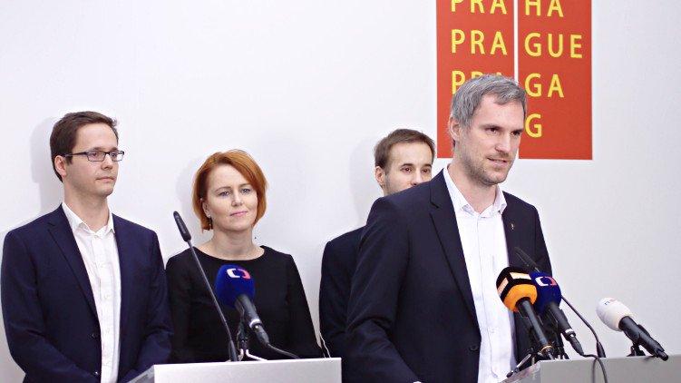 Budoucí vedení Prahy: Zdeněk Hřib primátorem