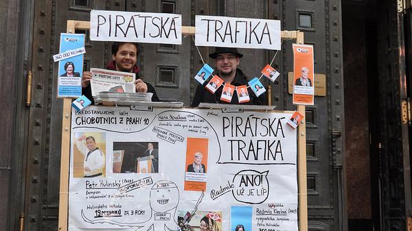 Řekněte NE politickým trafikám v Praze 5. listopadu v 9 ráno