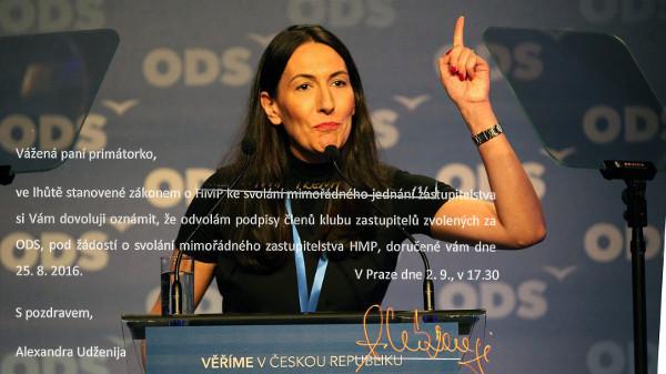 Ministerstvo odmítlo řešit mimořádné zastupitelstvo v Praze, anonymové z ODS prý podpisy stáhli