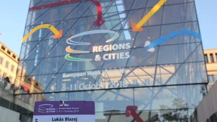 Piráti byli jedinými zástupci Ústeckého kraje na European Week of Regions and Cities