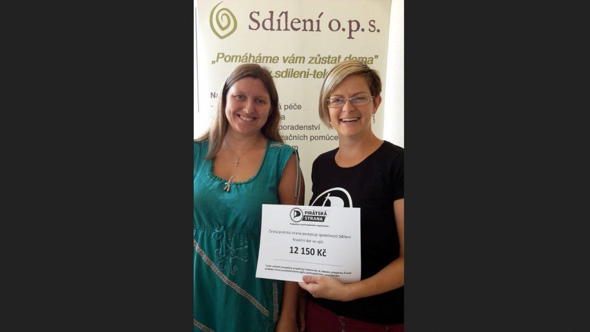 Piráti v participativním rozpočtu pomohli mobilnímu hospici i lesnímu klubu