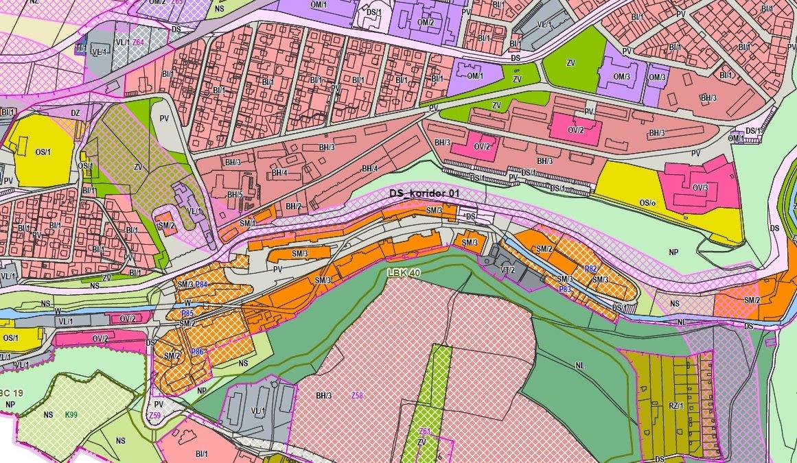 Nový územní plán počítá s radniční variantou