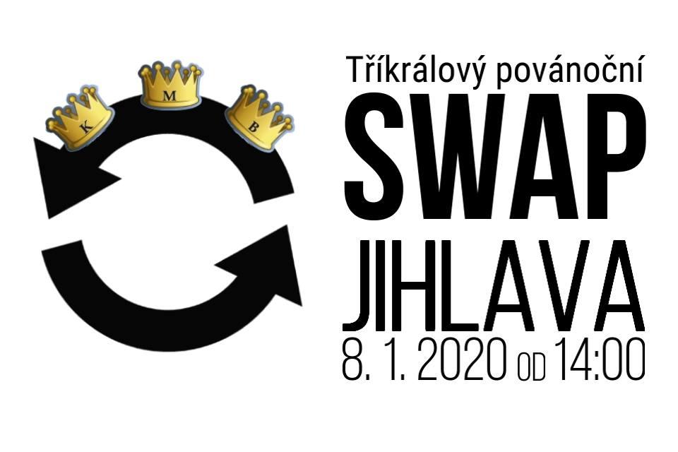 2. jihlavský SWAP je tu – přijďte vyměnit nevhodné vánoční dárky za nové