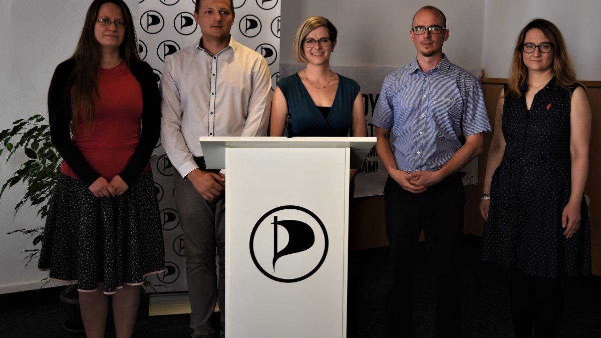 Kraj středem pozornosti - Piráti na Vysočině představili volební program pro letošní krajské volby