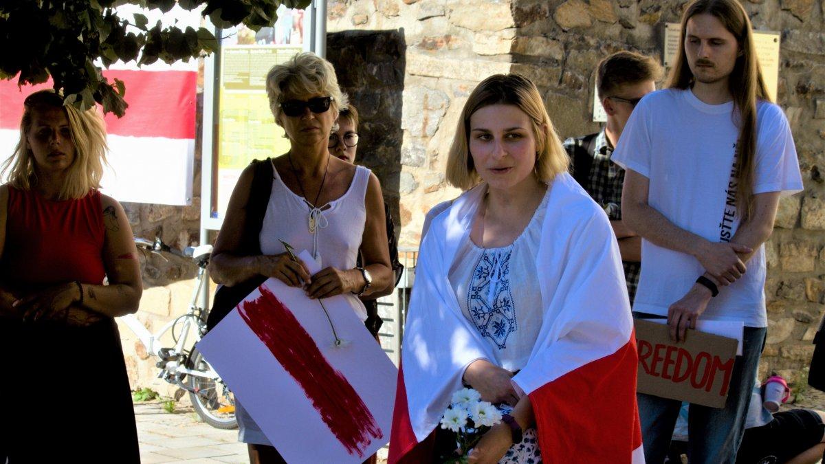 Pohár běloruské trpělivosti přetekl. Děkujeme všem, kteří přišli vyjádřit svou podporu běloruským protestům za svobodu