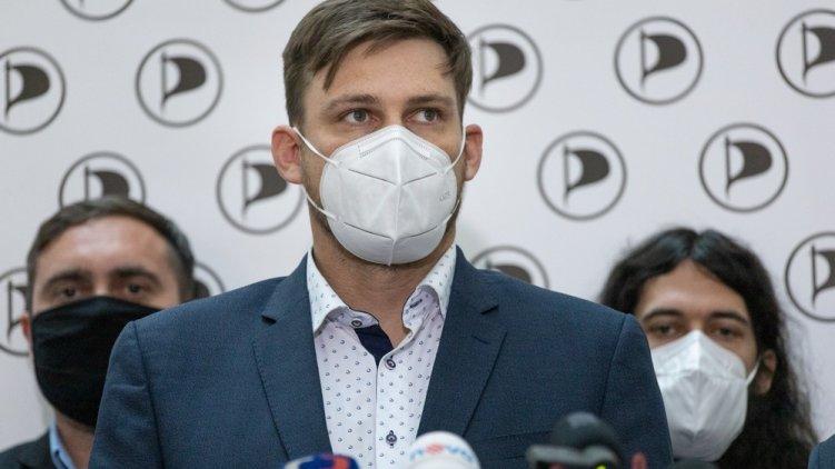 Lukáš Kolářík je lídrem Pirátů za Jihočeský kraj pro volby do Poslanecké sněmovny Parlamentu ČR