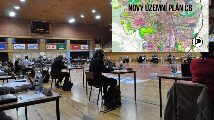 V Českých Budějovicích proběhne v pátek mimořádné zastupitelstvo k návrhu územního plánu