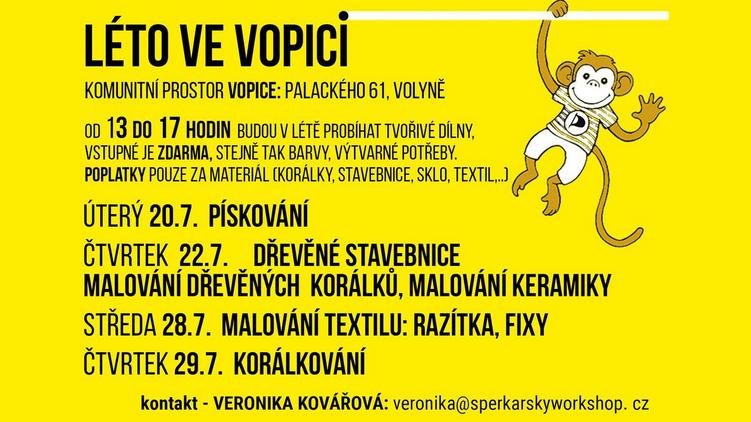 Volyňské Pirátské centrum o prázdninách - VoPiCe po covidové pauze zase ožije