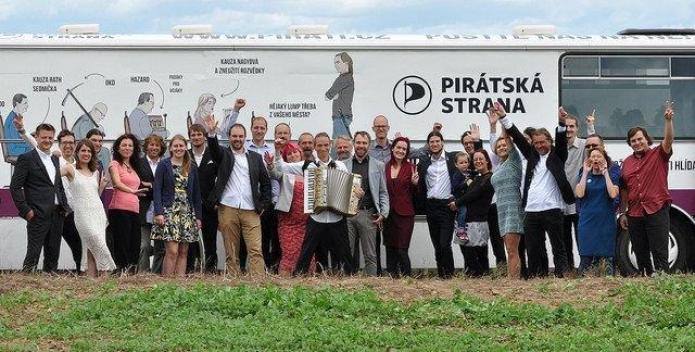 Sledujte s Piráty výsledky komunálních voleb ve vašem městě