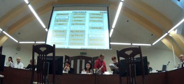 Přímý přenos z jednání zastupitelstva si lidé v Táboře oblíbili