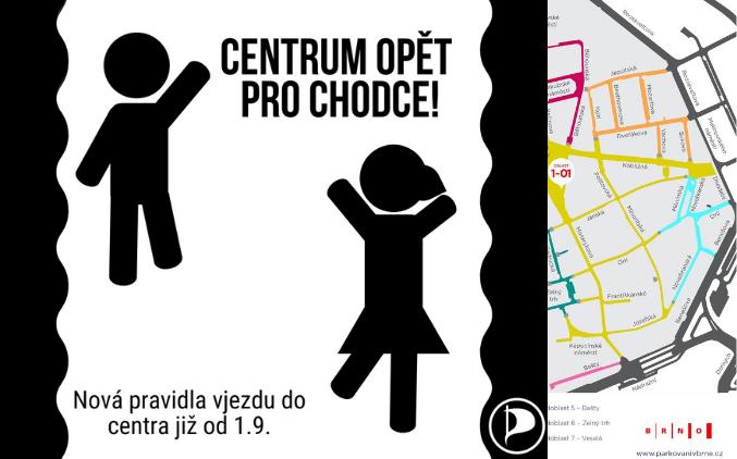 Méně aut v centru Brna. Nová pravidla pro vjezd aut jsou tu. Co se změní?