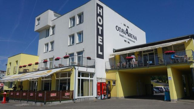Hotel OTava Arena se nachází u sportovišť ve čtvrti Svatý Václav. (ilustrační foto Otava Arena)