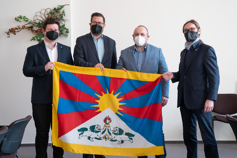 Tibetska vlajka JMK