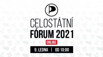První Celostátní fórum Pirátů online. Představí se i lídři kandidátek pro podzimní volby do Sněmovny