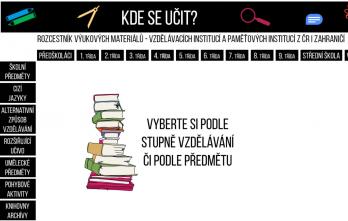 Rozcestník na online zdroje pro vzdělávání – kde se učit?
