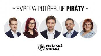 Evropa potřebuje Piráty! Piráti potřebují tvou pomoc! Připoj se na palubu!