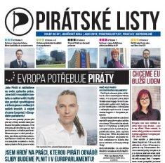 Pirátské listy k Eurovolbám v ulicích vašich měst a obcí
