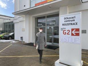 Brno spustilo na výstavišti první vysokokapacitní očkovací centrum v ČR