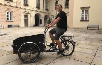 Marek Fišer: Proč podporujeme cargo kola jako další možnost zásobování?